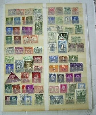 Netherlands Used Stamp Selection
