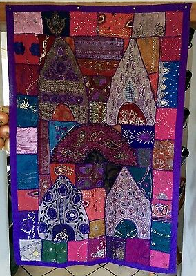 Large BEAUTIFUL Ethnic Bohemian,Tapestry, Home,Decor,Art,Patchwork Wall Hanging