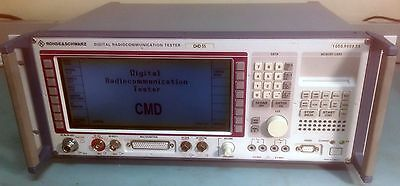 Rohde & Schwarz CMD55 GSM Digital Radio Tester Loaded with Spectrum Analyzer