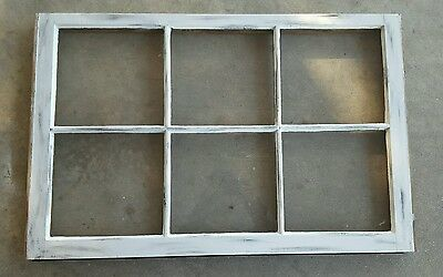 Vintage Sash Antique Wood Window Picture Frame Pinterest  Distressed Rustic