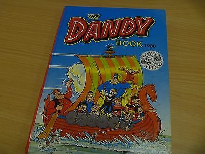 THE DANDY BOOK ANNUAL 1988 (not price clipped)