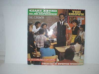 "Gary Byrd & The G. B. Experience - The Crown - 12"" Single - 1983"