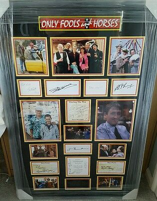 Only Fools & Horses (Ofah) Multi Signed X15  Ultimate Display, David Jason & Co