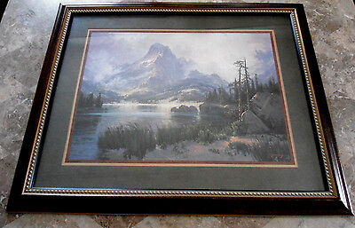 Home Interiors Framed Art Nature Picture -  BEAUTIFUL