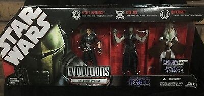 Star Wars Evolutions Force Unleashed Vader's Apprentice Set MIB 2008