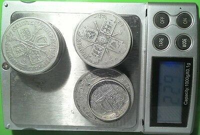 Lot 21 pc Vintage silver coins and ring 229 grams 1921 to 1929 bulk scrap job