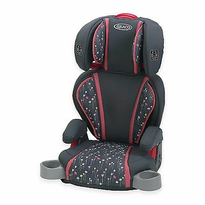 Graco Highback TurboBooster Car Seat in Alma Adjustable Features New See Details