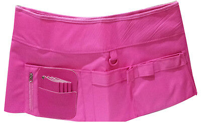 Pro Hairdressing Scissors Salon Spa Holster Barber Pouch Hairstylist Pink  Skirt