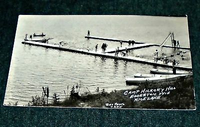 RPPC - Camp Hickory Hill, Edgerton Wisconsin Vintage Postcard
