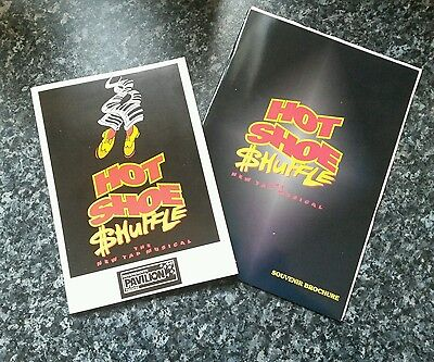 1995 Hot Shoe Shuffle Theatre and Souveir programmes - Bournemouth