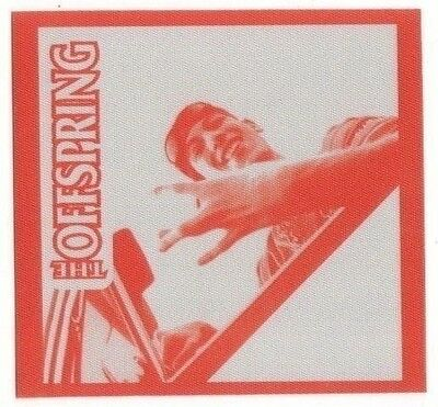 OFFSPRING backstage Satin Cloth PASS tour collectible