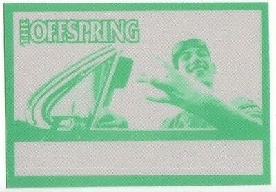 OFFSPRING backstage pass Tour satin cloth collectible