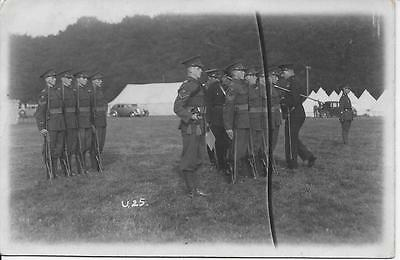 Army Camp Postcard Dated 1937 - Dover, Kent