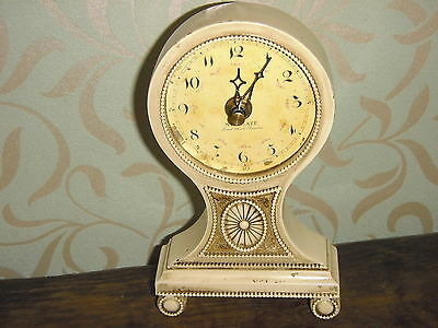 Mantle Carriage French Regency Style Clock Made For Newgate Bond Street London