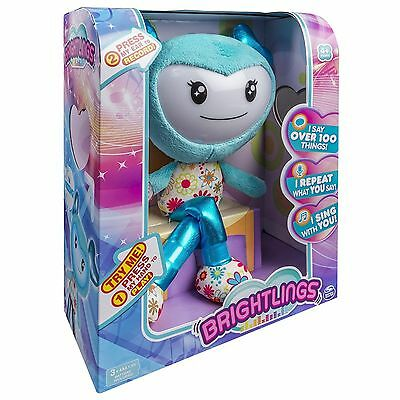 Brightlings, Interactive Singing, Talking 15 Plush, by Spin Master 8 teal