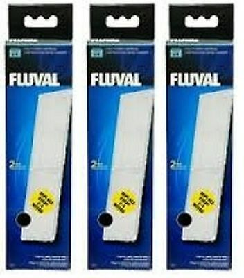 3 x Fluval U4 poly carbon cartridge 2 pack