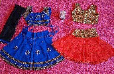 Toddler Girl Indian / Asian Clothes Ages 1/2/3