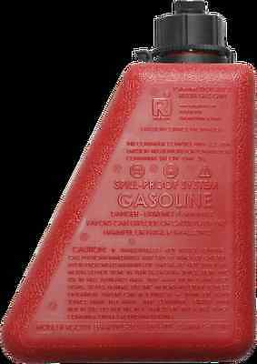 Reda Red 1 Gallon Spill Proof Motorcycle Saddlebag Fuel Container Harley Toruing