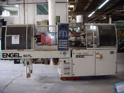 60 Ton Used Engel Injection Molding Machine ***Tie bar less***