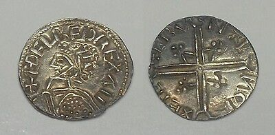 Silver Penny Anglo-Saxon for cataloging ..Weight.- 1,66 gr. 16,5 mm.