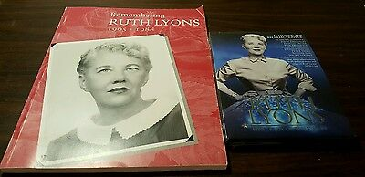 NEW Ruth Lyons: First Lady of Television DVD CD Cincinnati & Book Combo