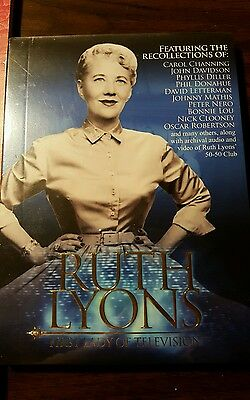 NEW Ruth Lyons: First Lady of Television DVD CD Cincinnati