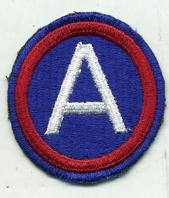 Vintage US Army 3rd Army Color Patch Cut Edge