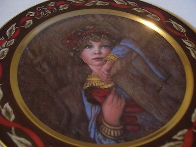 """Pickard China Made In Usa Cleopatra """"let's Pretend"""" Series Irene Spencer Plate"""