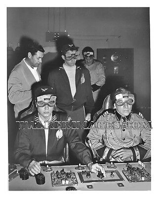 1954 Tv Photo Rocky Jones Space Ranger Richard Crane Print 09