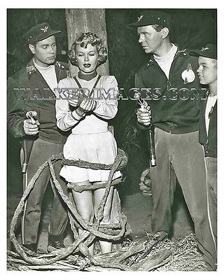 1954 Tv Photo Rocky Jones Space Ranger Richard Crane Sally Mansfield 03