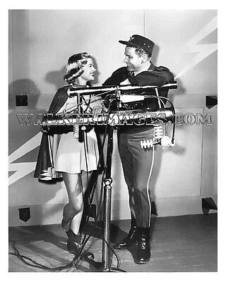 1954 Tv Photo Rocky Jones Space Ranger Richard Crane Sally Mansfield 08