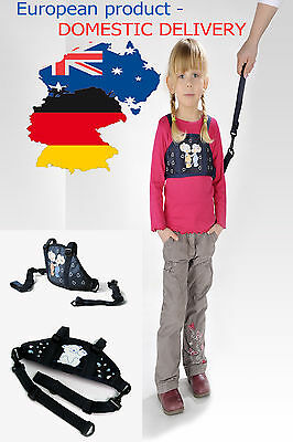 SAFETY HARNESS AND REINS Strap Baby Kid Toddler Walking Leash Tether AUSTRALIA