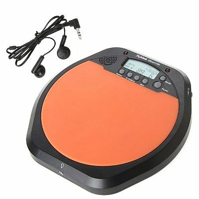 Digital Electronic Drummer Training Practice Drum Pad Metronome