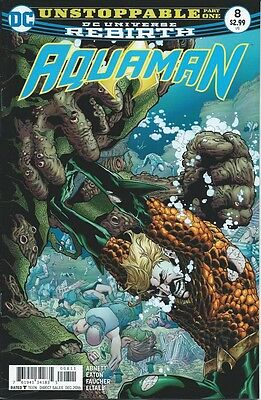 Aquaman (8th Series) # 8 NM 2016