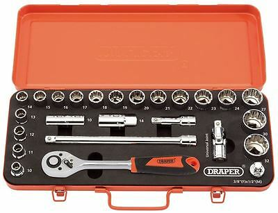 "Retro Edition 1/2"" Sq. Dr. Metric Socket Set (25 piece)"