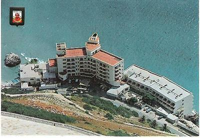 Gibraltar - Hotel Caleta Palace from above - postcard c.1970s