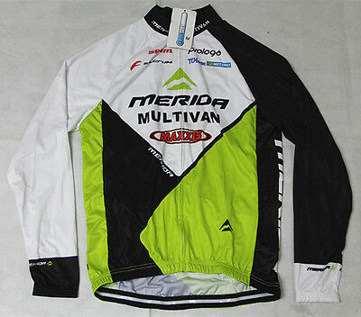 New Men's Sportwear Cycling Jersey Bike Bicycle Long Sleeve Cycling Clothing Top