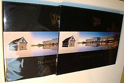 JCB: The First Fifty Years 1945-1995 by Mitchell, John Hardback Book The Cheap