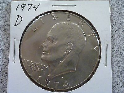 1974-D Eisenhower Dollar - Circulated