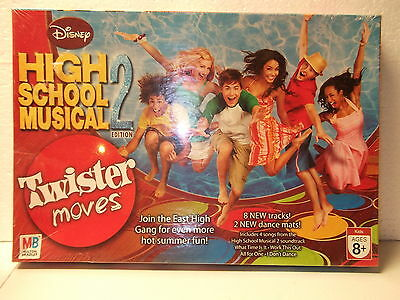 TWISTER MOVES - Disney High School Musical 2 Edition [NEW]