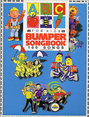 *50% Off New* Abc For Kids Bumper Song Book Children 100 Songs! On Sale Now