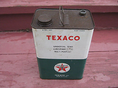 Texaco Universal Gear Lubericant Multi-Purpose 8 Lbs Can