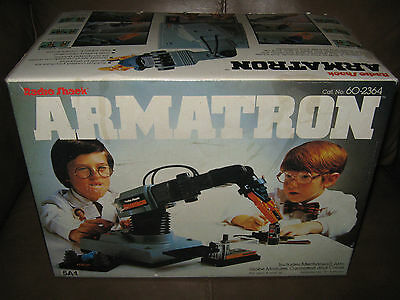 Radio Shack Armatron Battery Operated Toy in the box!