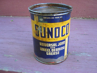 Sunoco Universal Joint and Wheel Bearing Grease 1 Pound Can