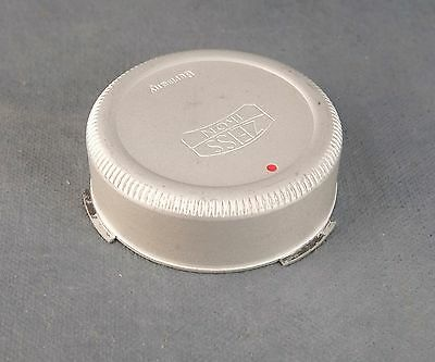 Genuine Zeiss Contarex Original Rear Lens Cap ~ Aluminum Zeiss Ikon
