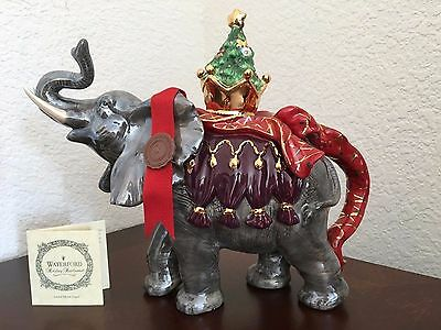 Waterford Holiday Heirlooms Maharaja Elephant Teapot New in Box with Certificate