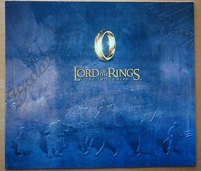 """2002 """"lord Of The Rings"""" -  New Zealand Collector's Pack Stamps In Folder"""