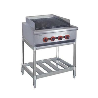 Gas Char Grill 4 Burner with Stand Commercial Chargrill Restaurant Equipment NEW