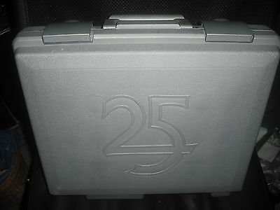 Games Workshop 25th Anniversary Figure Case New Condition Army Warhammer WH40K