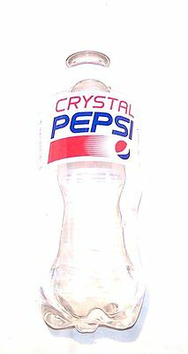 Six Crystal Pepsi Clear Cola October Expire 2016 20oz Bottles Not Diet 2015 Cans